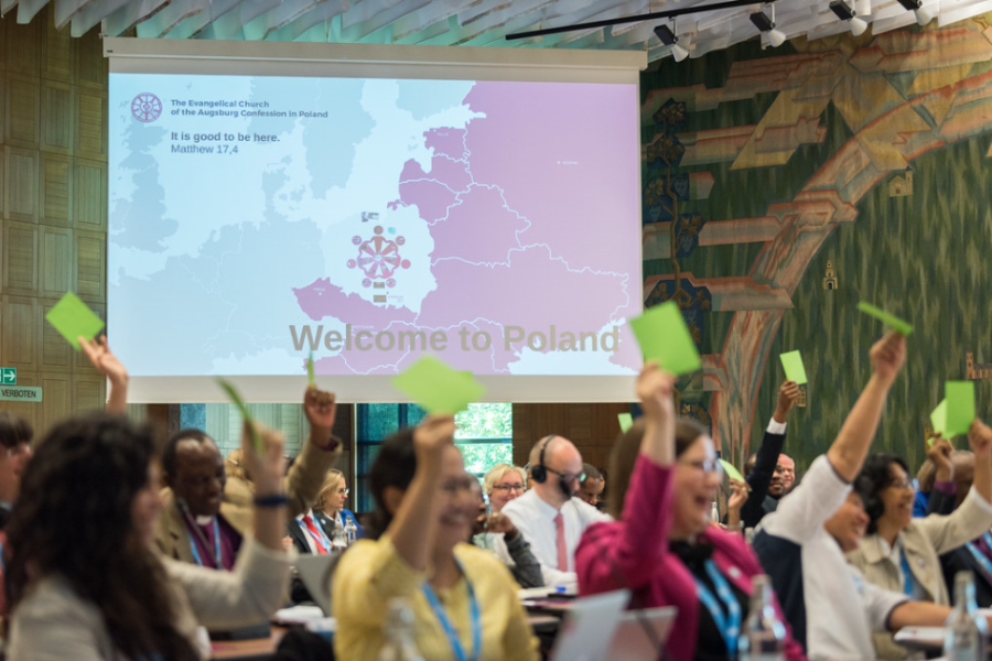 Krakow as the host of the World Lutheran Federation General Assembly
