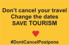 Don't cancel your travel