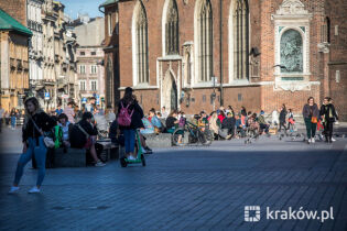 Krakow supports the tourist industry
