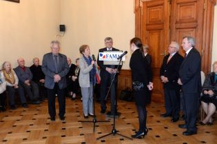 Des anciens Maires de la France  à la Mairie de Cracovie
