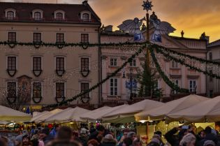 Christmas magic on the Main Market Square