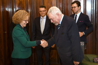 Ambassador of Ireland visited Krakow