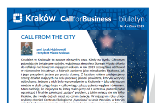 Nowy numer Call for Business (nr 4) - zapraszamy do lektury