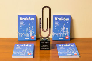 Silver Paper Clip for a Guide to Culinary Krakow