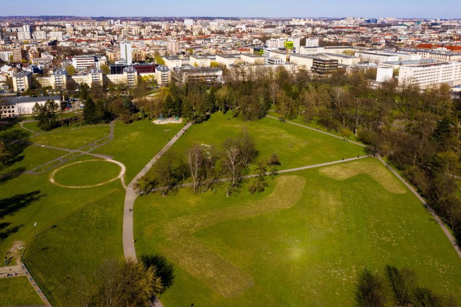 Zamknięcie wszystkich parków w Krakowie